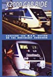 X2000 Cab Ride on DVD by Valhalla Video image