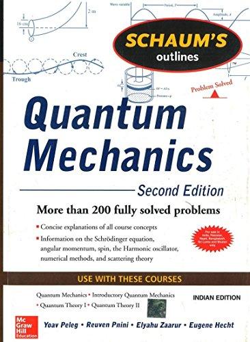 Quantum Mechanics (Schaum's Outline Series)