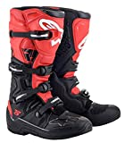 Alpinestars Men's Tech 5 Motocross Boot, Black/Red, 11