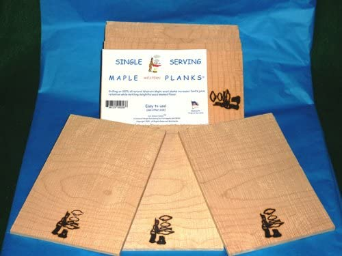 Just Smoked Salmon Single Serving 10 Pack Credence Maple Limited price sale Planks