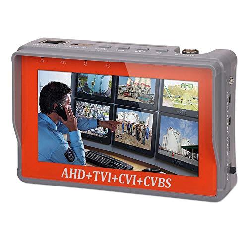 4 in 1 CCTV Tester for 1080P/3.0mp/4.0mp/5.0 Megapixel AHD, TVI, CVI, CVBS Analog Security Camera,...