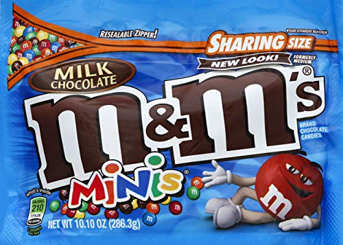 M&M's Milk Chocolate Minis Sharing Size, 10.10 OZ