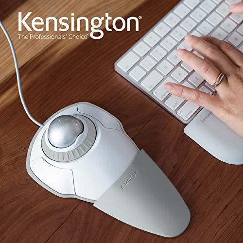 Kensingtonケンジントン【正規品・5年保証】オービットトラックボールウィズスクローリングホワイト&グレーK72500JP