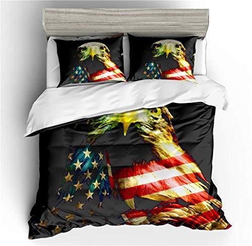 655 MKLLY beddengoed set Dream - Verenigde Staten Super zacht, anti-mijt geavanceerde materiaal Polyester-katoen dekbedovertrek 3 stuks (1 dekbedovertrek + 2 kussenslopen)