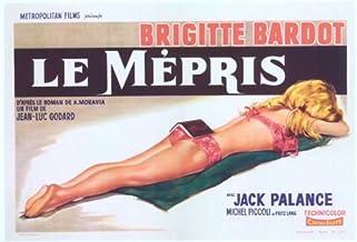 Contempt Poster Movie Spanish 11x17 Brigitte Bardot Jack Palance Fritz Lang Georgia Moll