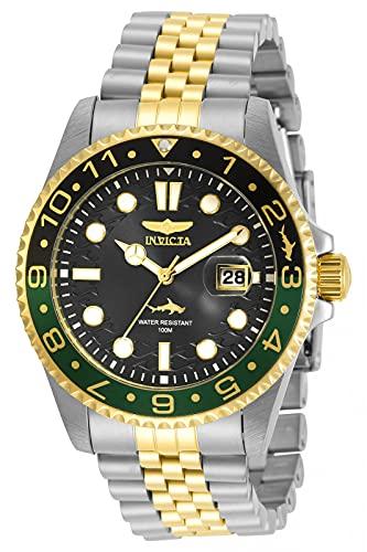 Relógio masculino Invicta Pro Diver de quartzo preto 30625