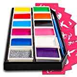 Face Paint Kit For Kids aged 3-14 Paints Over 100 Faces, Professional...