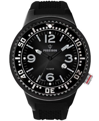 Kienzle Herren-Armbanduhr POSEIDON XL Analog Quarz Silikon K2031043243-00387