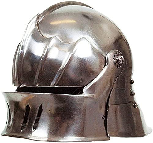 Medieval 2021 model Gothic Sallet Jacksonville Mall Helmet Metallic Finish Armour -