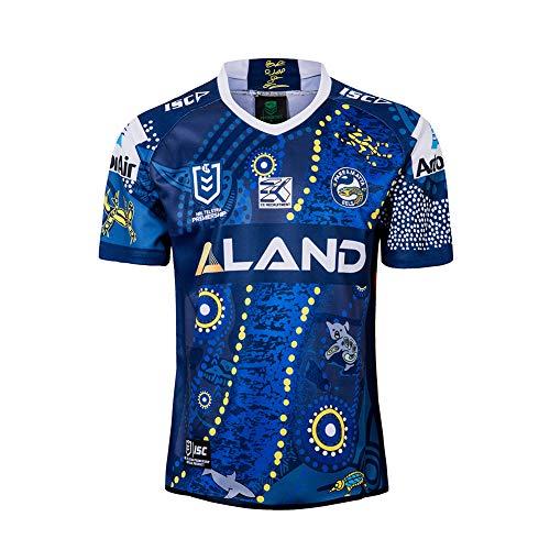 Manfish Conmemorative Edition Rugby Shirt Chándales De Fútbol para Hombre Camiseta De Fútbol De Secado Rápido Transpirable (S-3XL),M