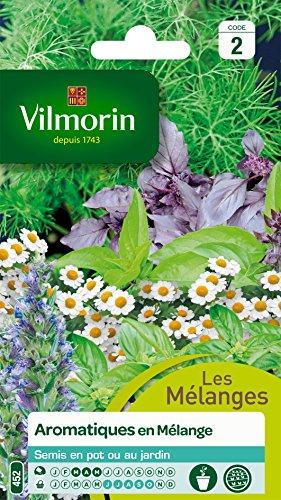 Vilmorin 5871246 Pack de Graines Mélange d'Aromatiques
