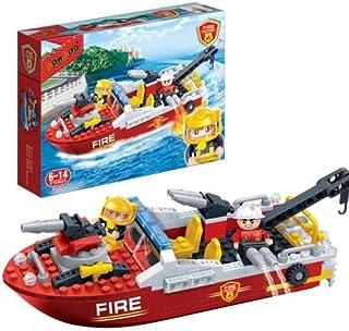 BanBao Fire Boat Building Set Building Kit
