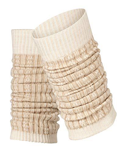 FALKE Damen Chain Stitch W AW/LW Socken, beige (linen mel. 4541), Einheitsgröße