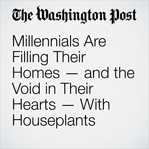 Millennials Are Filling Their Homes — and the Void in Their Hearts — With Houseplants copertina