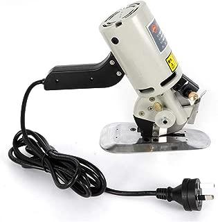 Cloth Cutter Fabric Cutting Machine Shear Rotary Electric Scissors 200W 90mm
