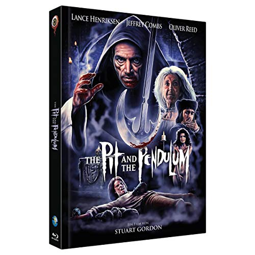 The Pit and the Pendulum - Mediabook - Cover B - Limited Collector's Edition (2-Disc Full Moon Collection Nr. 5) (Limitiert auf 444 Stück) (+ Soundtrack-CD) [Blu-ray]