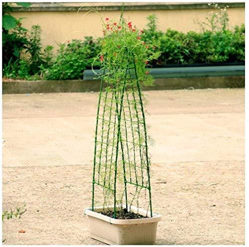 N/Z Equipo Diario Soporte para Plantas de jardín Escalada Estilo Europeo Marco de Escalada para Plantas Soporte de exhibición de Enrejado de Hierro Resistente Suministros de jardín H (Color: 39x90cm)