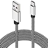 USB Type C Kabel 4,5M, Extra Lang USB-C Kabel Nylon
