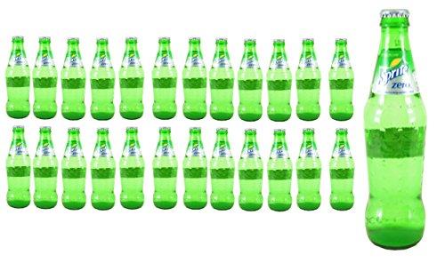 Sprite Zero Sugar Glass Bottle 24 x 330ml