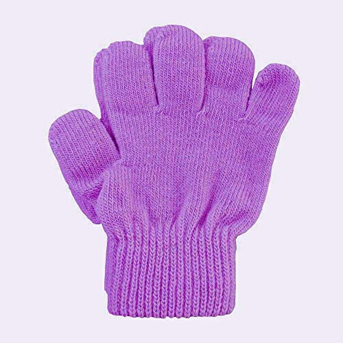 A&R Sports Toddler Handgards Gloves, Lilac