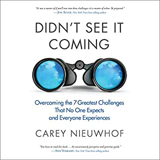 Didn't See It Coming     Overcoming the Seven Greatest Challenges That No One Expects and Everyone Experiences              By:                                                                                                                                 Carey Nieuwhof                               Narrated by:                                                                                                                                 Carey Nieuwhof                      Length: 6 hrs     14 ratings     Overall 5.0