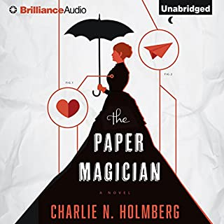 The Paper Magician audiobook cover art
