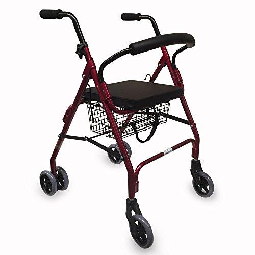 Walker for Seniors with Pressure Brakes