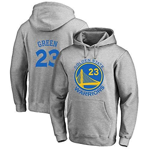 ZSPSHOP Sudadera de baloncesto para hombre de la NBA Warriors No.23 con capucha, color gris, talla XXXL
