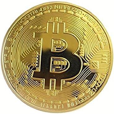 Amazon | ビットコイン BitCoin 仮想通貨 (ゴールド) 通販