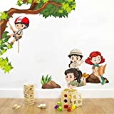 Product : Self Adhesive, Matte Finished, High Quality Vinyl Based Cut out wall sticker rolled in Hard Tube Height 85 cms Width 100 cms Installation : Do It Yourself with your imagination.And Don't limit yourself with Walls,Try it on Doors,Fridge etc....