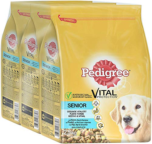 PEDIGREE Vital Protection Senior mit Huhn, Reis & Gemüse 2,5kg