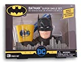 Batman Super Smile Set – Soporte para cepillo de dientes, cepillo de dientes y taza de enjuague