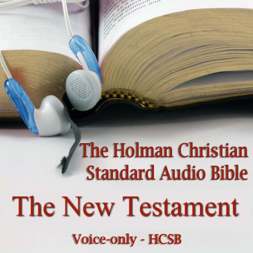 The New Testament of the Holman Christian Standard Audio Bible copertina