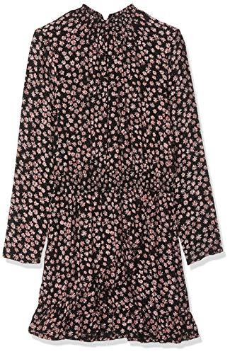 Garcia Kids Mädchen H92682 Kleid, Mehrfarbig (Off Black 1755), 164 (Herstellergröße: 164/170)