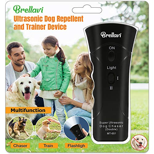 Dog Repellent and Trainer, Dog Repellent Device with LED Flashlight, Dogs Good Behavior Training, Safe to Walk The Dog Outdoor, Best Handheld Dog...