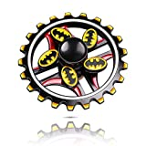 ATESSON Fidget Spinner Toys Stress Relief Toys, Double Hand Spinner Durable Stainless Steel Bearing High Speed Metal Material EDC ADHD Toys for Adults Kids