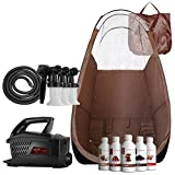 Maximist Evolution TNT Spray Tanning Complete Kit - Includes Brown Tent FREE Suntana Premium Sunless Solutions