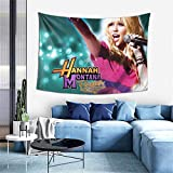 Colorful Wind Hannah Tapestry Montana Tapestry Wall Hanging Tapestry for Living Room Bedroom Dorm Decor 60 X 40 Inch Wall Blanket Tapestry Indoor Tapestries,Black,One Size