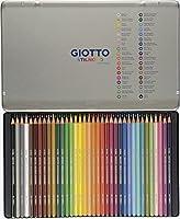 Giotto 256400 - Stilnovo Acquarell Pastelli Acquarellabili Scatola Metallo da 36Colori #1