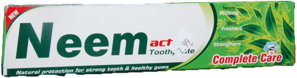 Neem Active Dealing full price Daily bargain sale reduction Toothpaste