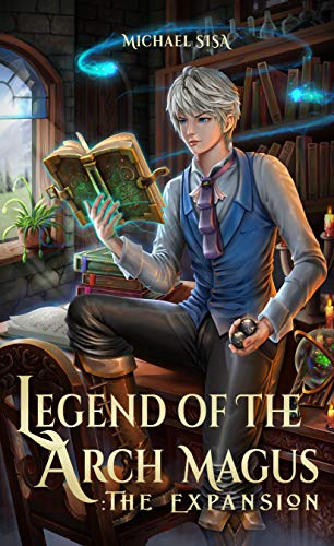 legend of the arch magus book 1 cover
