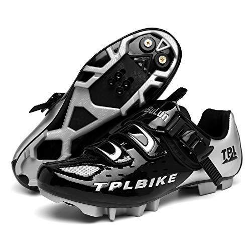 XKUN Zapatillas de Ciclismo Extreme 3.0 MTB,con Suela de Carbono y Triple...