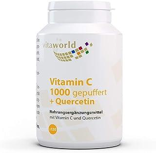 Vitamina C 1000 tamponada + Quercetina 120 Tbl Vita World Farmacia Alemania