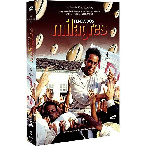 TENDA DOS MILAGRES - NOVELA/(DVD) BOX