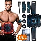 RIRGI Koiteck Electroestimulador Muscular Abdominales,Electroestimulador Muscular USB Recargable, 6...