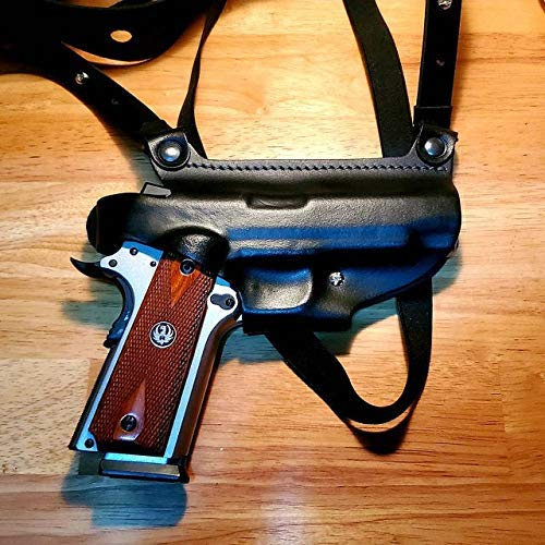 Finally popular brand Leather Chicago Mall Shoulder Holster For Commander 1911 Colt Combat