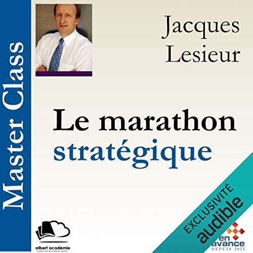 Le marathon stratégique cover art