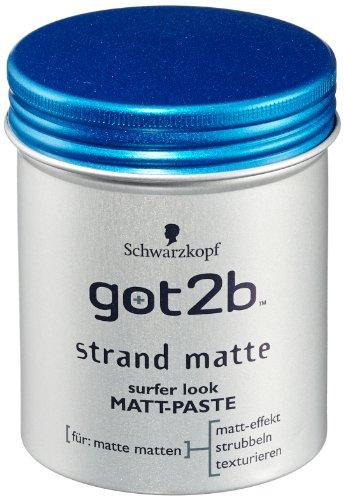 got2b Strand Matte Matt-Paste, 6er Pack (6 x 100 ml)