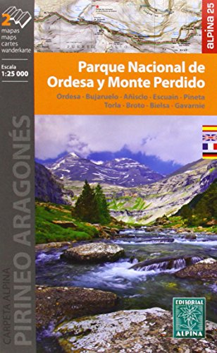 Parque Nacional Ordesa y Monte Perdido 1 : 25 000 (CARPETA ALPINA - 1/25.000)
