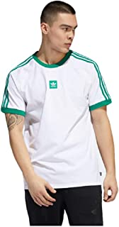 Mens Cali 2.0 Tee White/Bold Green EC7376